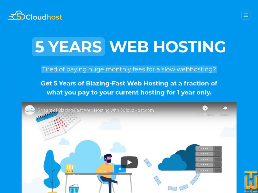 5CloudHost Review: Get Powerful 5 Years of Blazing-Fast Web Hosting