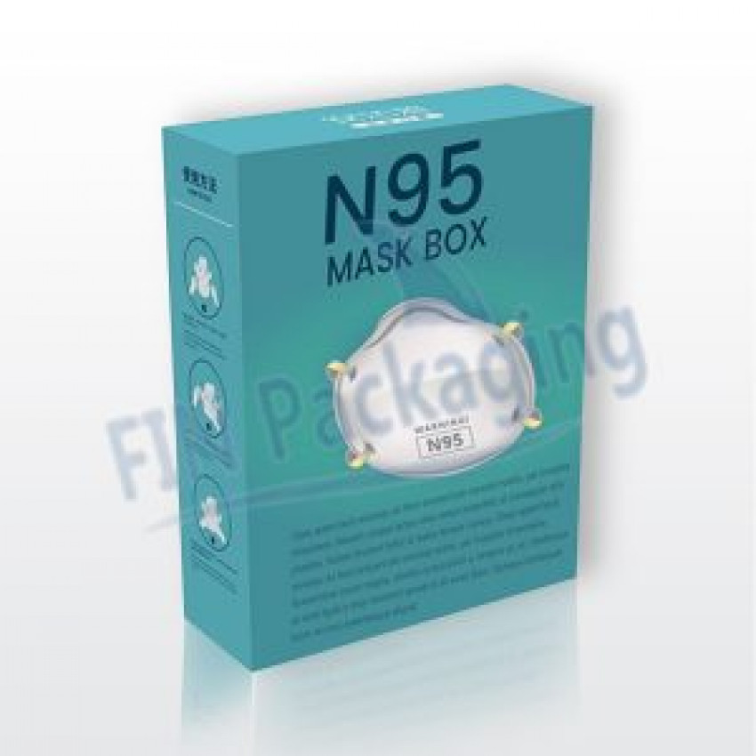 Custom printed Surgical Face Mask Boxes in USA