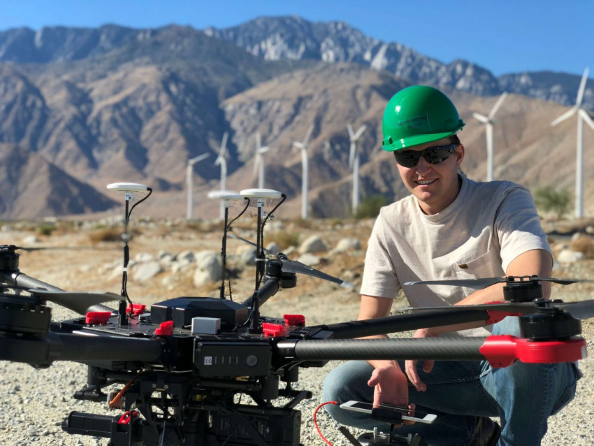 Minimise operational time and costs with drone geotag device