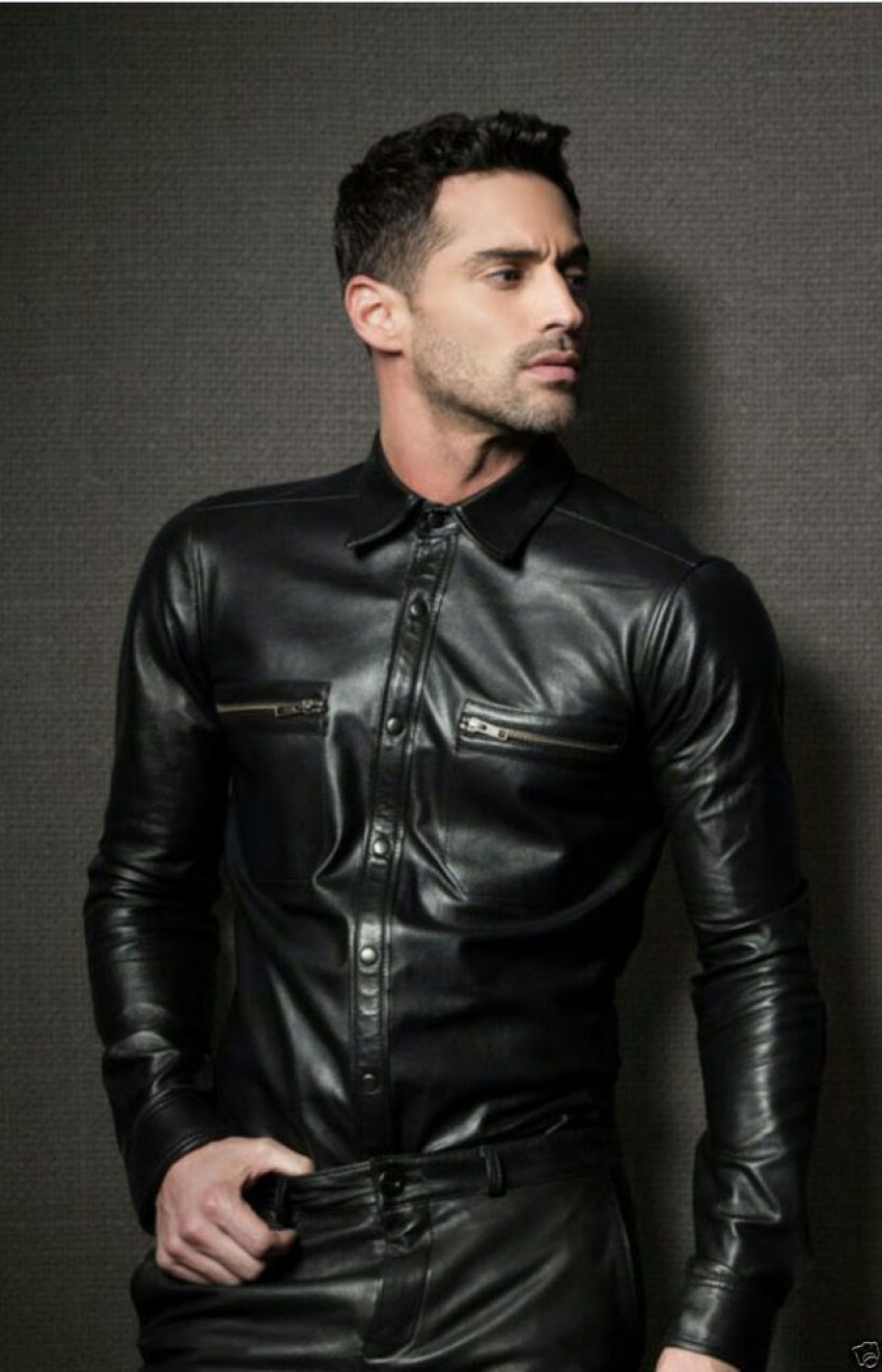 How to Choose the Right Type of Leather Shirts?
